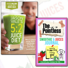 Jason Vale's 5:2 Juice Diet Collection Smoothie & Juices Journal 2 Books Set NEW