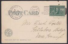 U.S. 1904. St. Louis Worlds Fair Expo Card 323, Hillsboro Bridge, N.H.
