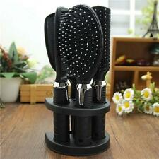 1 Set Hair Dressing Mirror Comb Suit Brush Set Salon Hairdressing Curl Barber AD