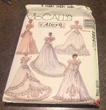 McCall's 5804 Sewing Pattern Bridal Growns Bridesmaid's Gown Weddind Dress S 8