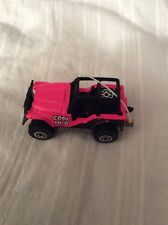 1983 MATCHBOX Hot PINK JEEP 4X4 COOL MUD Toy Car Diecast Vehicle