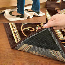4 x Ruggies Rug Grippers Reusable Non Slip Skid Rug Carpet Pad Underlay Tape