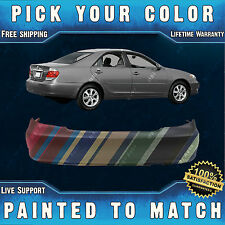 NEW Painted To Match - Rear Bumper Cover Replacement for 2002-2006 Toyota Camry