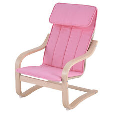 Kids Armchair Children Leisure Lounge Wood Home Furniture Kiddie Pink New
