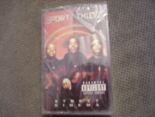 SEALED RARE OOP Sporty Thievz CASSETTE TAPE rap Street Cinema PETER GUNZ 1998 !