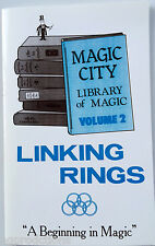 LINKING RINGS BOOK Booklet Magic City #2 Trick Chinese Magician Routines Hoops