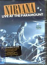 DVD NIRVANA LIVE AT THE PARAMOUNT SEALED NEW 2011