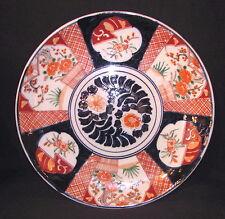 Large Antique Japanese Imari Charger Circa 1890 Meiji
