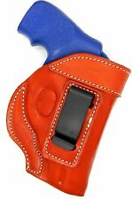 """Premium Leather Inside/In the pants IWB Holster for COLT 2"""" REVOLVER 38 SPECIAL"""