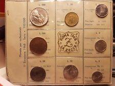 SERIE DIVISIONALE IN LIRE DEL 1968 -1° EMISSIONE - ZECCA DI ROMA - FDC