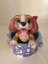 Disney Traditions Jim Shore Lady And The Tramp Lovely Lady Puppy Box Showcase