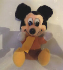 "Mickey's Christmas Carol Mickey Mouse 8"" Vintage Plush Soft Toy Stuffed Animal"