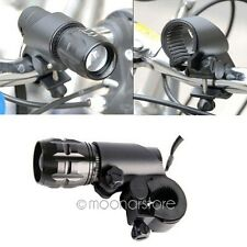 Mount Holder Clamp Clip Grip Bracket For Bicycle Durab Flashlight Lamp Torch
