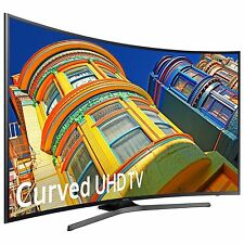 "Samsung 55"" Class (54.6"" Diag.) Curved 4K Ultra HD Smart TV UN55KU650DFXZA"