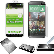 REAL TEMPERED GLASS FILM LCD SCREEN PROTECTOR FOR HTC ONE M8
