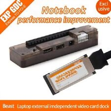 EXP GDC Beast Laptop External Independent Video Card Dock plus Expresscard Cable