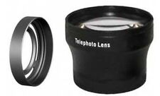Tele Lens + LH-X10 Lens Hood with Adapter Ring Tube for Fuji FujiFilm X10 bundle