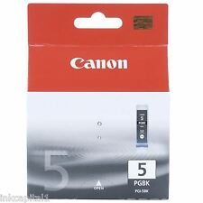 1 x Canon PGI-5Bk, PGI5Bk Original OEM Black Inkjet Cartridge