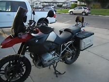 Long Luggage Rack and Backrest for BMW 1200GS 2004-2012