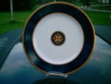 "WEDGWOOD EMBASSY COLLECTION FOXWORTH MADE IN JAPAN 8.25"" ROYAL BLUE WITH GOLD"