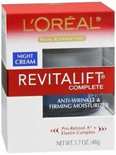 L'Oreal Dermo-Expertise Advanced RevitaLift Night Cream 1.70 oz