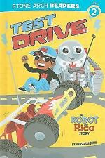 Test Drive: A Robot and Rico Story (Stone Arch Readers - Level 2)-ExLibrary
