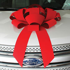 "30"" Red Velvet Giant Car Bow"