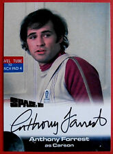 SPACE 1999 - ANTHONY FORREST as Carson - AUTOGRAPH CARD - Unstoppable