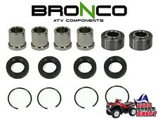 BRONCO UPPER or LOWER A ARM REPAIR KIT HONDA TRX 250 300 400 450 700 EX SPORT
