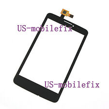 Touch Screen Digitizer For Alcatel One Touch Scribe Easy OT-8000 8000E/D Black