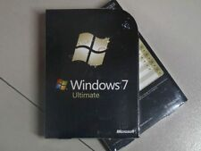 Microsoft Windows 7 Ultimate 32 & 64 bit with  DVD FULL Version Retail Packing