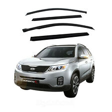 New Smoke Window Vent Visors Rain Guards for Sorento R 2011 - 2013