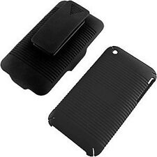 Shell Holster Combo Case Cover for Iphone 3g 3gs  with Belt Clip