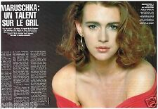 Coupure de presse Clipping 1991 (2 pages) Maruschka Detmers