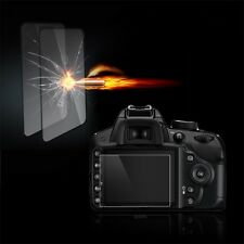 Tempered Glass Film Camera LCD Screen Protector for Nikon D3100/D3200/D3300 Z@