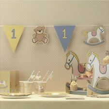 Ragazzi 1st Compleanno Bandierine Rock-a-bye Baby Party Banner