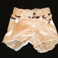 MFG (MARITHE FRANCOIS GIRBAUD) GIRLS 6 YEARS WHITE SHORT RRP £46 NOW £10.50