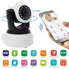 Wireless Pan Tilt 720P Security Network CCTV IP Web Camera Night Vision WIFI Cam