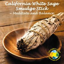 """California White Sage Smudge Stick 5"""" L"""