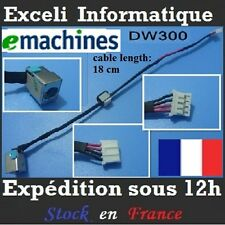 Connecteur dc jack cable wire Acer Emachines E529 E443 E640 E640G