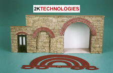 Wills SS55 Brick Arch Overlays For Scratch Building 00 Gauge New Plastic Kit