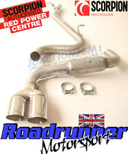 Scorpion Audi TT MK2 2.0 TDI Quattro 2011 Cat Back Stainless Exhaust System