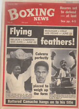Vintage Boxing News, June 86, Azumah Nelson, Barry McGuigan cover