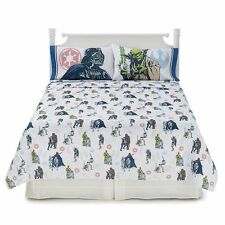 Disney Star Wars 4Pc FULL Sheet Set