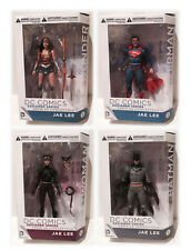 DC C. Designer Series JAE LEE 4 Figure Set CATWOMAN WONDER WOMAN SUPERMAN BATMAN