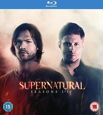 Supernatural TV Series Box Set Seasons 1-10 New Sealed Blu-Ray Region Free
