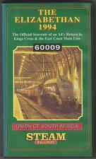 The Elizabethan 1994 (VHS) Railway Video Tape ~ Transport Video Publishing Ltd