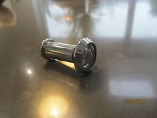 Chrome viewing eye for front door with internal cover plate. New.