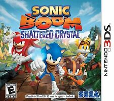 Sonic Boom: Shattered Crystal USED SEALED Nintendo 3DS 3 DS 2 2DS