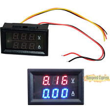 Mini DC 0-300V 100A LED Voltmeter Ammeter Dual Digital Amp Volt Meter Gauge Hot